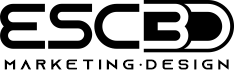 ESC3d- Marketing & Design Logo